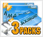 ZyGain Gum 3 Pack Package
